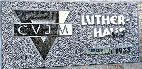 Hinweistafel Lutherhaus Oberdieten
