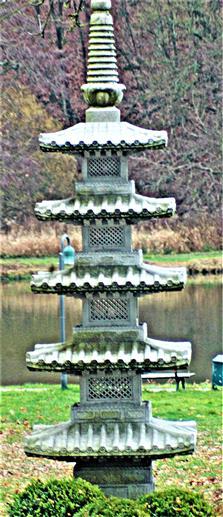 Japanische Pagode westlich des Hammerweihers