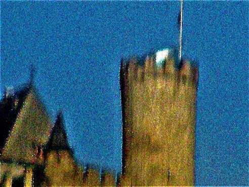 Turm des Schlosses Biedenkopf