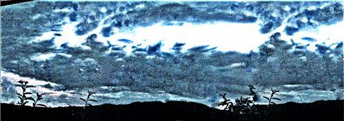 Abendhimmel vom 18.08.2020
