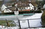 Freischwimmbad Simmersbach vereist