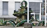 Rathaus Eibelshausen Osterdekoration