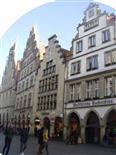 Beispiel einer Fassade von Handels- wie Kaufhäusern ähnlich der Hanse in Münster