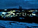 Eibelshausen bei Nacht Februar 2021