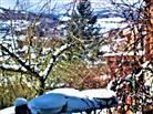 Schnee im Diezhöltztal April 2021