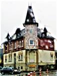 Haus mit Eckturm in Friedensdorf(Dautphetal)