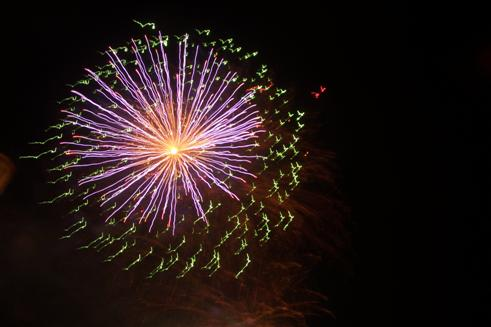 Feuerwerk in Rathen