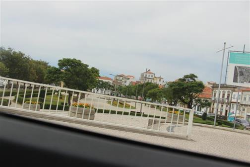 Parkanlage des Mosteiro in Vila do Conde