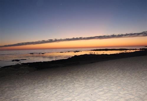 Abend am Sandstrand