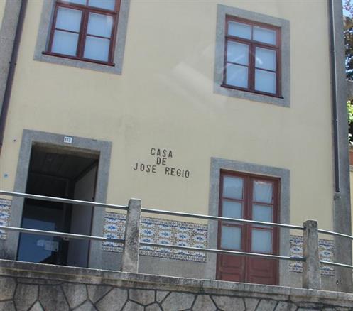 Haus des portugiesischen Schriftstellers Jose´ Regio