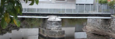 Brücke zur evangelischen Kirche(Eibelshausen)