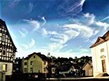Cirrus-Wolken als