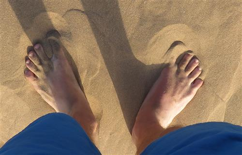 Schmeichelt den Füßen