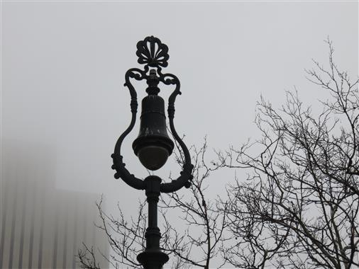 Nebel in New York