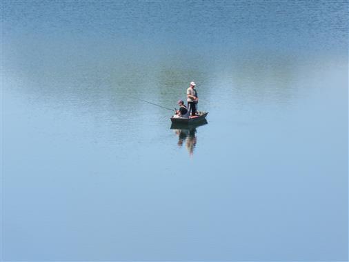 Das Glück des Anglers ist die Anglerruhe