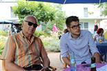 Enkel und Opa